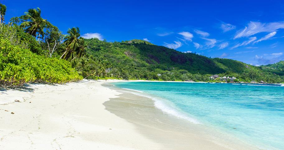 Der schönste Strand von Mahe
