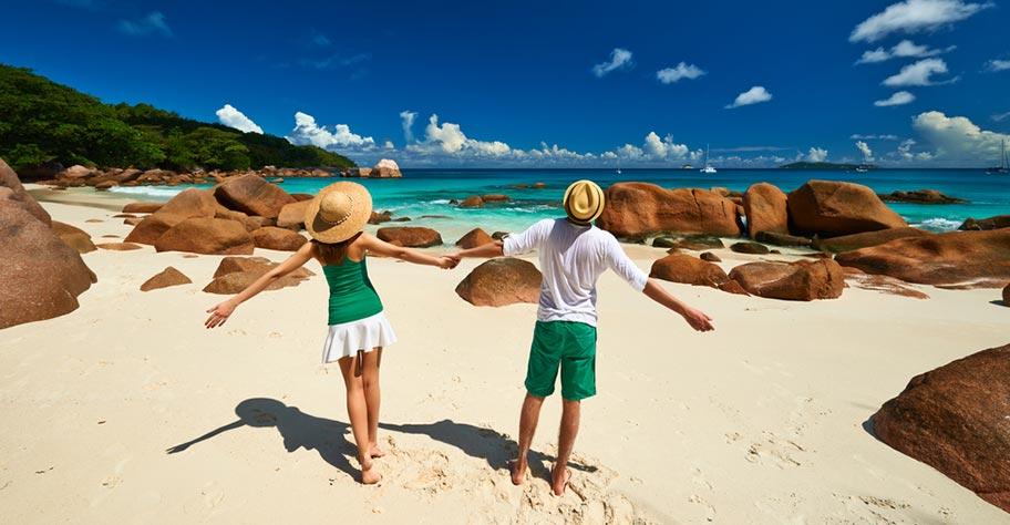 Seychellen Honeymoon Traumstrand