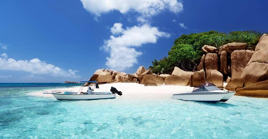 Seychellen Familien Bootsausflüge Tauchen