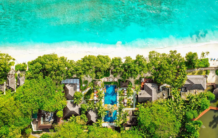 Hilton Labrize Silhouette Island Seychellen