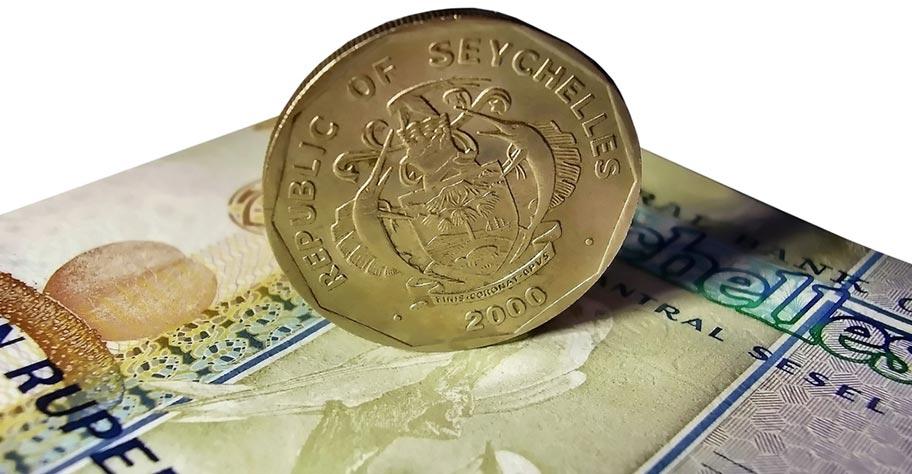 Geld Währung Seychellen Rupies